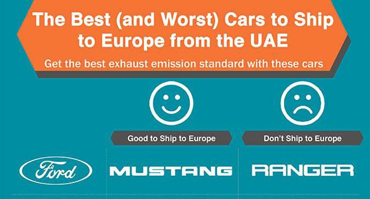 Infographic: Should You Ship Your Car to Europe from the UAE? Here