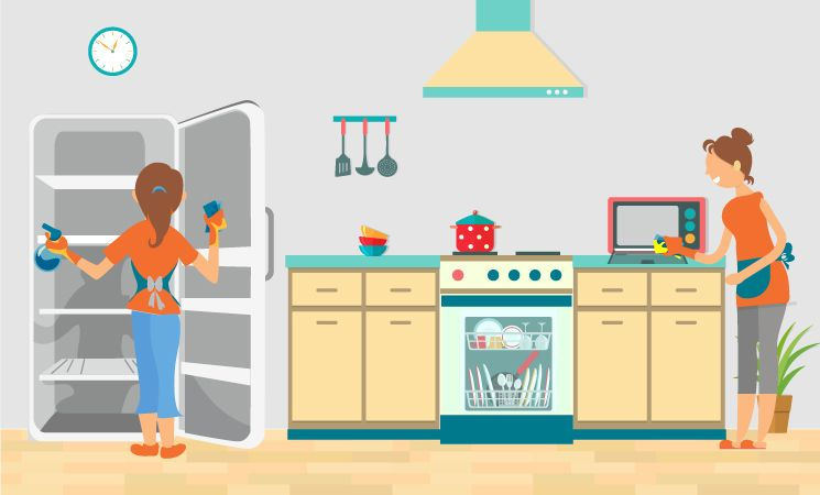 How to Clean the 10 Dirtiest Items in Your Kitchen - The Home ...