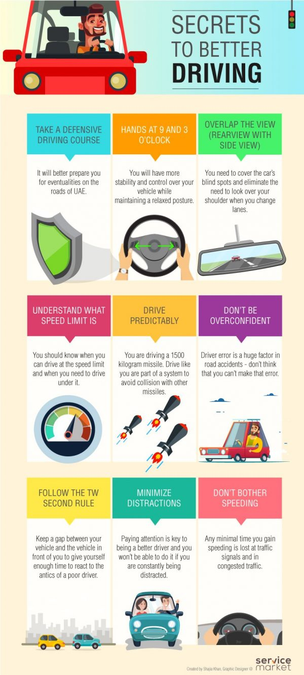 secrets to better driving